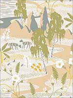 Kiruna Beige Oasis Wallpaper 27821480 by A Street Prints Wallpaper for sale at Wallpapers To Go