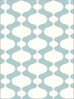 Emilio Turquoise Retro Wallpaper 278224543 by A Street Prints Wallpaper for sale at Wallpapers To Go