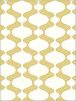 Emilio Yellow Retro Wallpaper 278224544 by A Street Prints Wallpaper for sale at Wallpapers To Go