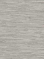 Maytal Grey Faux Grasscloth Wallpaper 276722268 by Brewster Wallpaper for sale at Wallpapers To Go