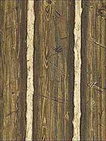 Hodgenville Brown Pine Wood Wallpaper 276741381 by Brewster Wallpaper for sale at Wallpapers To Go