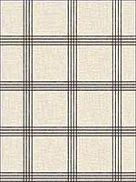 Ester Black Plaid Wallpaper 311524479 by Chesapeake Wallpaper for sale at Wallpapers To Go