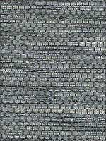 Grasscloth Blue Slate Wallpaper W344315 by Kravet Wallpaper for sale at Wallpapers To Go