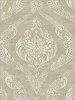 Damask Neutrals Wallpaper 1621805 by Seabrook Wallpaper for sale at Wallpapers To Go