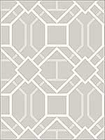 Dauphin Bone Lattice Wallpaper 280987707 by Advantage Wallpaper for sale at Wallpapers To Go