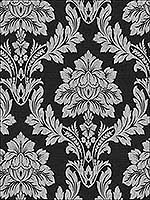 Salvador Black Wallpaper 65354 by Sancar Wallpaper for sale at Wallpapers To Go