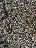 Puglia Chocolate Python Arabesque Wallpaper 287188734 by Brewster Wallpaper for sale at Wallpapers To Go