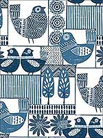 Hennika Blue Patchwork Wallpaper 282125113 by A Street Prints Wallpaper for sale at Wallpapers To Go