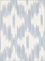 Keller Light Blue Ogee Wallpaper 2813527711 by Advantage Wallpaper for sale at Wallpapers To Go