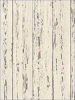 Shiplap Cream French Vanilla Brown Wallpaper FH37528 by Patton Norwall Wallpaper for sale at Wallpapers To Go