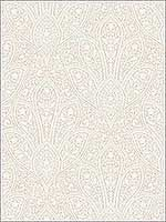 Distressed Paisley Beige Cream Swiss Coffee Wallpaper FH37547 by Patton Norwall Wallpaper for sale at Wallpapers To Go