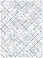 Chicken Wire Blue Beige French Blue Light Blue Wallpaper FH37553 by Patton Norwall Wallpaper for sale at Wallpapers To Go