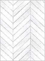 Chevron Wood Grey Wallpaper G68001 by Patton Norwall Wallpaper for sale at Wallpapers To Go