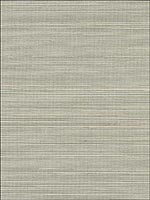 Kisho Silver Sisal Wallpaper 5002921 by Schumacher Wallpaper for sale at Wallpapers To Go