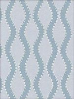 Ribbon Wave Aqua Wallpaper 5005162 by Schumacher Wallpaper for sale at Wallpapers To Go
