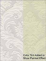 High Trad Paintable Wallpaper 437RD80027 by Kenneth James Wallpaper for sale at Wallpapers To Go