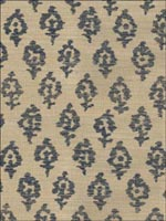 Woodhall Sisal Navy On Dove Wallpaper 664805 by Stroheim Wallpaper for sale at Wallpapers To Go