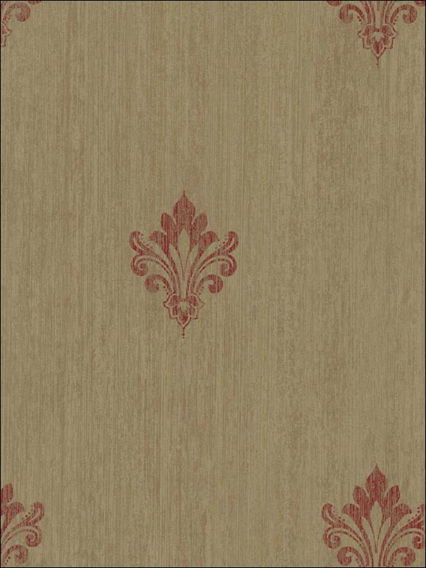 Fleur-De-Lis Wallpaper CS41501 by Seabrook Platinum Series Wallpaper for sale at Wallpapers To Go