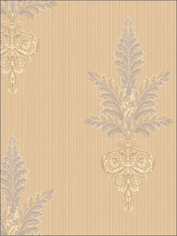 Fleur-De-Lis Wallpaper WC51406 by Seabrook Wallpaper