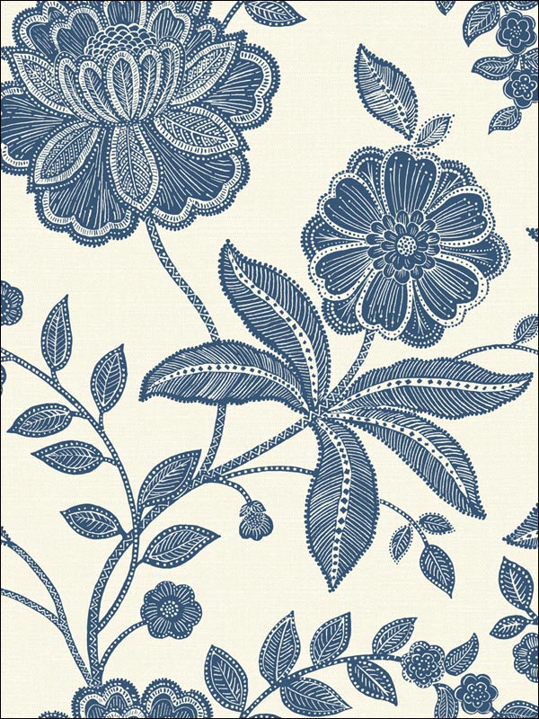 Floral Trail Wallpaper OA23302 by Printer Guild Productions Wallpaper for sale at Wallpapers To Go