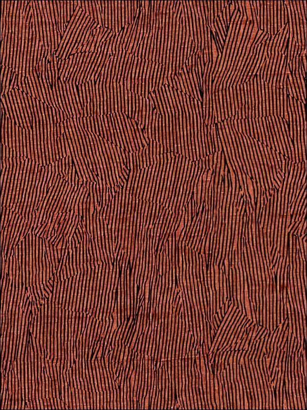 Avant Salmon Black Multipurpose Fabric GWF3531178 by Groundworks Fabrics for sale at Wallpapers To Go