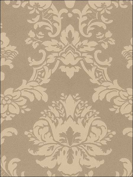 Metallics Damask Satins Wallpaper SL27541 by Norwall Wallpaper for sale at Wallpapers To Go