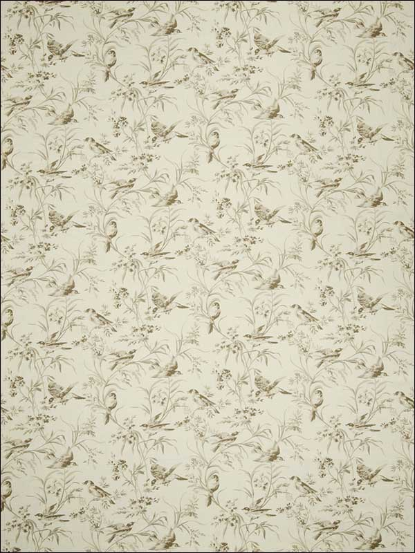Aviary Toile Bisque Fabric 2672601 by Fabricut Fabrics for sale at Wallpapers To Go