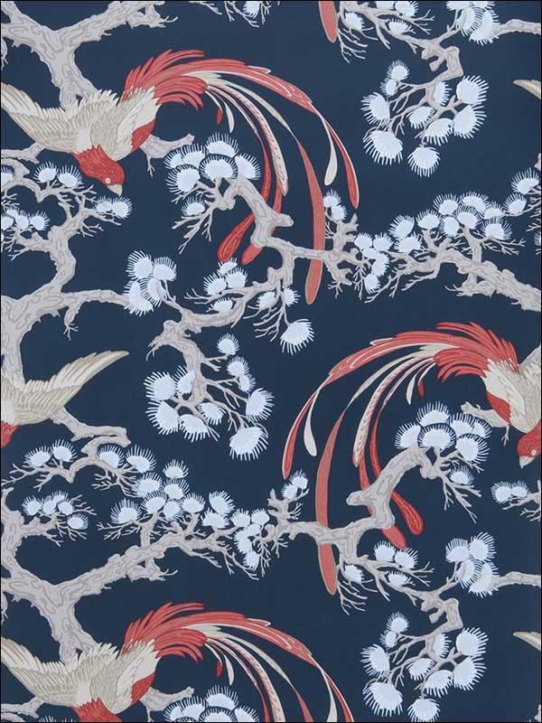 50037W Adelaida Indigo 02 Wallpaper 5994302 by Fabricut ...