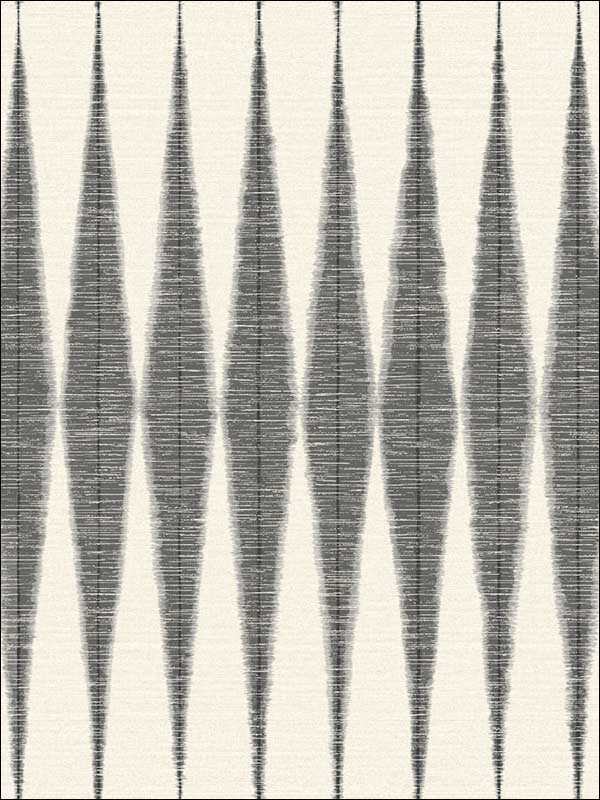 Handloom Black Wallpaper ME1540 by York Wallpaper for sale at Wallpapers To Go