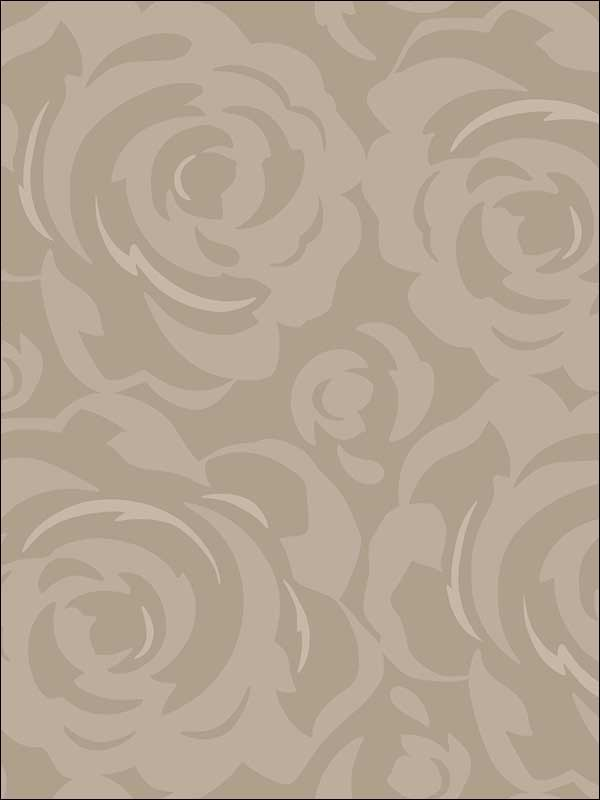 Lavish Taupe Wallpaper CP1243 by Candice Olson Wallpaper for sale at Wallpapers To Go