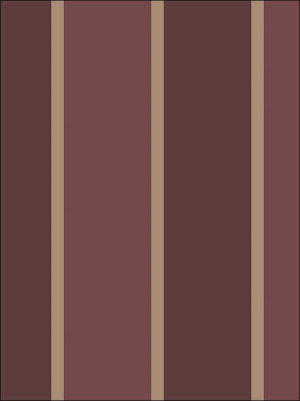 Wide Striped Brown Wallpaper G67551 by Galerie Wallpaper for sale at Wallpapers To Go