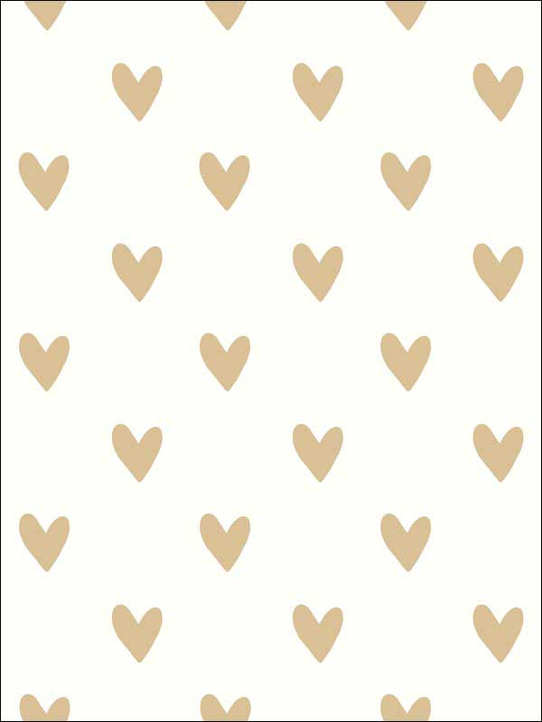 Heart Spot Peel And Stick Wallpaper RMK3525WP by York Wallpaper for sale at Wallpapers To Go