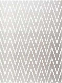 Kasari Ikat Silver Wallpaper 5005993 by Schumacher Wallpaper for sale at Wallpapers To Go