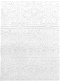 Hacienda Tile Texture Paintable Wallpaper 49796291 by Brewster Wallpaper for sale at Wallpapers To Go