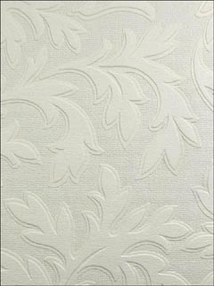 Textured Vinyl High Leaf Paintable Wallpaper RD80026 by Astek Wallpaper for sale at Wallpapers To Go