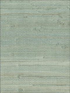 Kenneth James 269365609 Myogen Golden Green Grasscloth Wallpaper