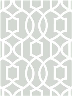 Gray Grand Trellis Peel And Stick Wallpaper NU1421 by Brewster Wallpaper for sale at Wallpapers To Go