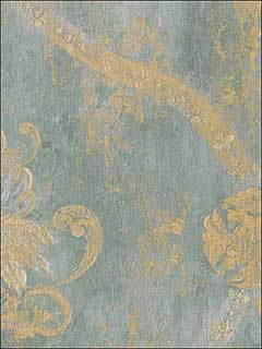 Metallics Damask Textured Wallpaper CS27331 by Norwall Wallpaper for sale at Wallpapers To Go