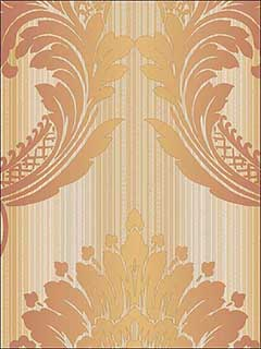 Striped Satins Damask Wallpaper CS35604 by Norwall Wallpaper for sale at Wallpapers To Go
