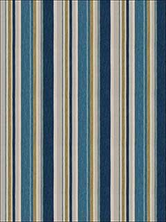 Manhattan Stripe Ocean Fabric 6438802 by Fabricut Fabrics for sale at Wallpapers To Go