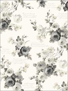Heirloom Rose Wallpaper MH1524 by York Wallpaper for sale at Wallpapers To Go