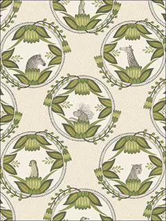 Ardmore Cameos Stone And Green Wallpaper 1099041 by Cole and Son Wallpaper for sale at Wallpapers To Go