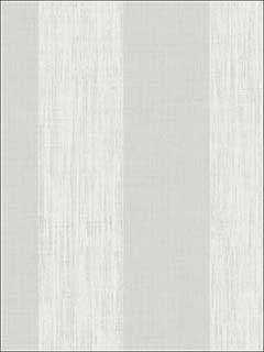 Textured Wide Stripe Light Silver Wallpaper GR61409 by Wallquest Wallpaper for sale at Wallpapers To Go