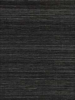 Shantung Grasscloth Black Pepper Wallpaper WP88347012 by ...