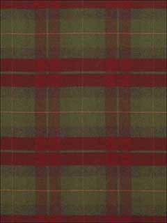 Coach Road Tartan Crimson Fabric LCF68170F by Ralph Lauren Fabrics for sale at Wallpapers To Go