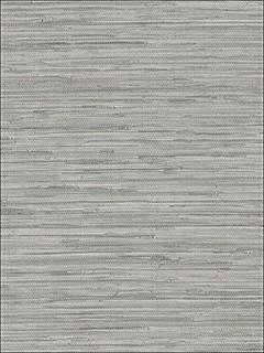 Patton Norwall Nt33705 Grasscloth Grey Wallpaper