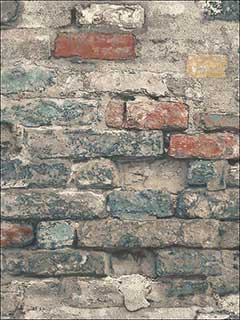 Brick Alley Peel And Stick Wallpaper RMK11080WP by York Wallpaper for sale at Wallpapers To Go