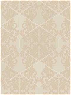 Zena Cream Wallpaper 65272 by Sancar