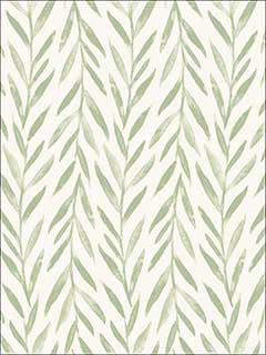 Willow Green Wallpaper MK1135 by Magnolia Home Wallpaper for sale at Wallpapers To Go