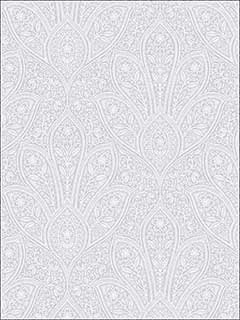 Distressed Paisley Grey Light Grey Soft Grey Wallpaper FH37549 by Patton Norwall Wallpaper for sale at Wallpapers To Go